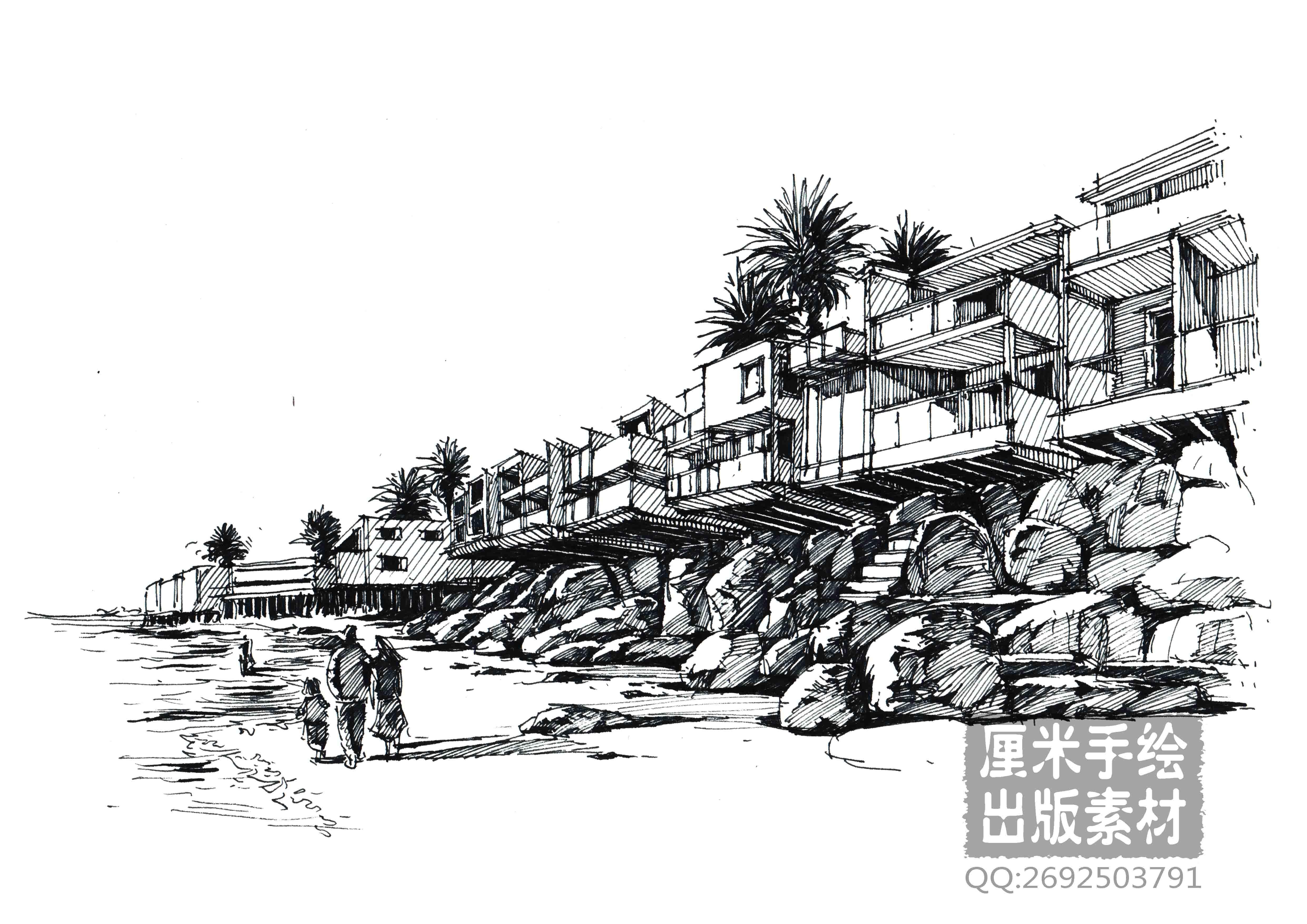 2015建筑设计手绘